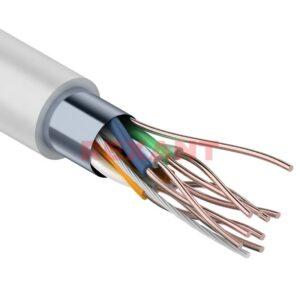 Интернет-кабель витая пара REXANT FTP 4PR 24AWG, 1 м.