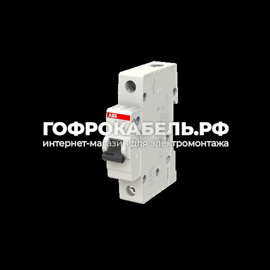 Автоматический выключатель 1-полюсный ABB SH201L C 6А