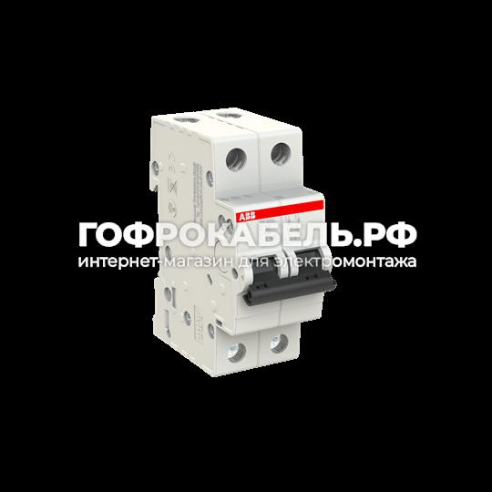 Автоматический выключатель 2-полюсный ABB SH202L C 6А